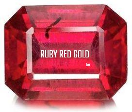 RUBY~RED GOLD 50ppm - Solar Plasma Highest Quality - Super Strength *400%